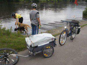 Kleine Räder für gute Fahreigenschaften