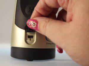 Steckplatz für Micro-USB